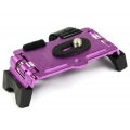 Proocam Camera Bracket/Holder on Motor Bicycle/Bike for Small DSLR Camera&Flash (Purple)
